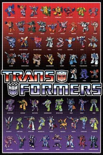 List Of Transformers >> Details About Transformers Poster Autobots Decepticons All Characters The