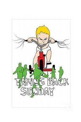 Taking Back Sunday Poster (TAKING BACK SUNDAY POSTER