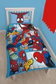 Spiderman reversible, single duvet set
