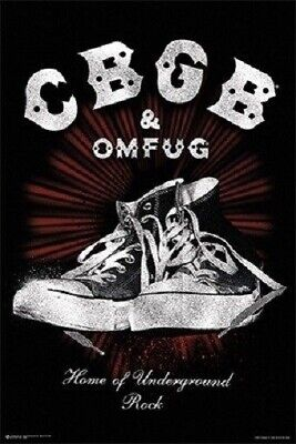 CBGB & OMFUG ~ HOME OF UNDERGROUND ROCK ~ 24x36 MUSIC POSTER ~ NEW/ROLLED! Rock Music Poster