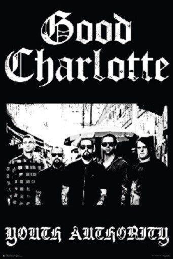 GOOD CHARLOTTE ~ YOUTH AUTHORITY ~ 24x36 MUSIC POSTER ~ Rock Joel Benji Madden