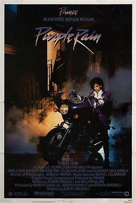 Purple Rain (1984) Prince movie poster print
