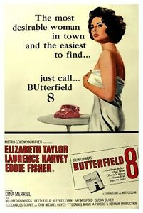 BUTTERFIELD-8-MOVIE-POSTER-ELIZABETH-TAYLOR-VINTAGE