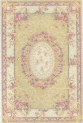 """1:48 Scale Dollhouse Area Rug 0001915 - approximately 1-7/8"""" x 2-13/16"""""""