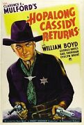 Hopalong Cassidy Movie Poster