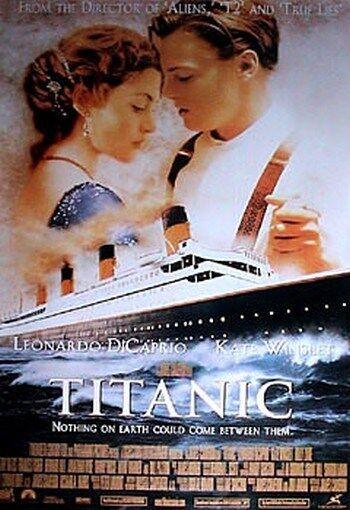 TITANIC MOVIE POSTER Leonardo DiCaprio RARE NEW 24x36 PRINT