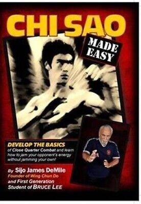 Bruce Lee Chi Sao Made Easy DVD James DeMile seattle wing chun do sticky hands