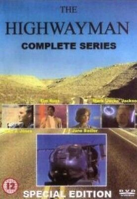 The Highway Man Complete Series - Trucking Drama - 2 DVD Set - 1987 -Sam J Jones