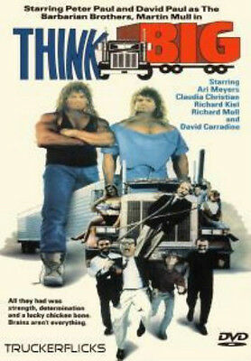 THINK BIG - Trucker Drama DVD - (1990) Barbarian Brothers - Martin Mull