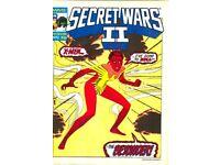 Marvel Super Heroes : Secret Wars II #72 NM British Comic (1985)