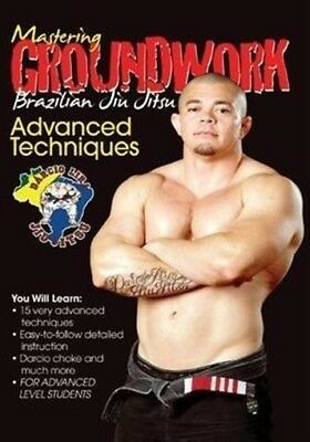 Mastering Groundwork Brazilian Jiu Jitsu ADVANCED TECHNIQUES DVD #7 calf slice