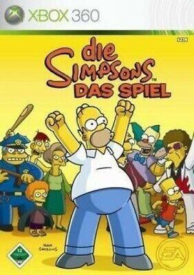 Microsoft Xbox 360 - Die Simpsons: Das Spiel DEUTSCH CD mit Anl.