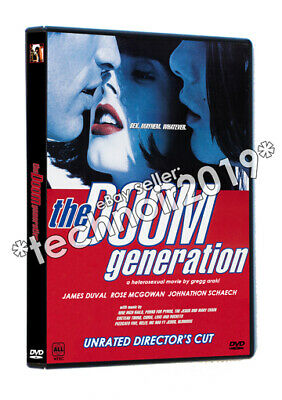THE DOOM GENERATION (1995) Gregg Araki James Duvall Rose McGowan NTSC UNCUT!