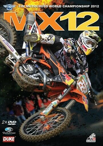 MX12 Motocross World Championship - Official review 2012 (New 2 DVD set) NTSC