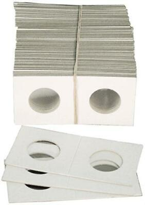 1.5 x 1.5 Penny Cent Dime Coin Cardboard Flips 1 Bundle 100 Holders Free US Post