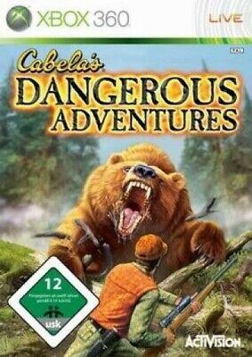 Microsoft Xbox 360 - Cabela's Dangerous Adventures mit OVP