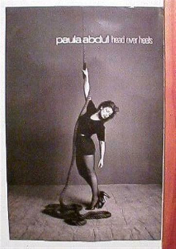 Paula Abdul Promo Poster Hot Legs American Idol