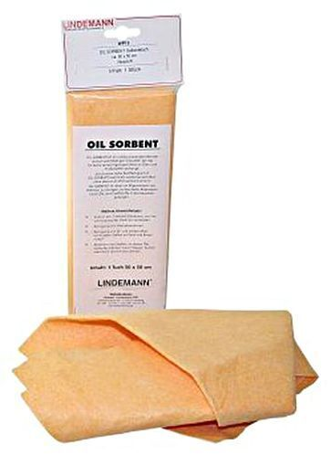 LINDEMANN Oil Absorbent Cloth in SB-Pack (50x50cm)