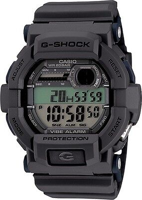 BRAND NEW CASIO G-SHOCK GD350-8 GREY DIGITAL VIBRATION ALARM WATCH NWT!!!