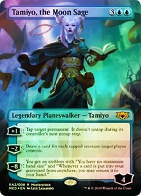 TAMIYO, THE MOON SAGE (Foil) Mythic Edition MTG Blue Planeswalker Mythic for sale  Shipping to South Africa