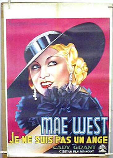 Foreign MAE WEST Movie Poster GREAT ART- Unsed- Rolled (MHPO-2566)
