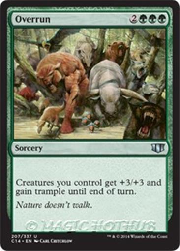 Sorcery Unc 4 x DESERT TWISTER NM mtg Commander 2014 Green