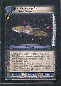 Star-Trek-CCG-In-A-Mirror-Darkly-RARE-13R122-I-S-S-Enterprise-Terran-Flagship