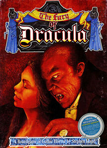 The Fury of Dracula Boardgame By Games Workshop