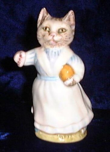 Beswick Beatrix Potter figurine Tabitha Twitchit BP2 Gold Oval