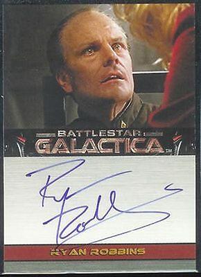 Battlestar Galactica Premiere Autograph Ryan Robbins