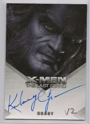 Kelsey Grammer The Beast (X-Men 3 X3 The Last Stand Trading Cards Auto Kelsey Grammer Beast NM)