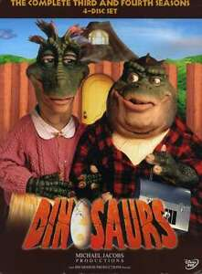 DINOSAURS-THE-COMPLETE-THIRD-AND-FOURTH-SEASONS-4-DISCS-DVD-NEW