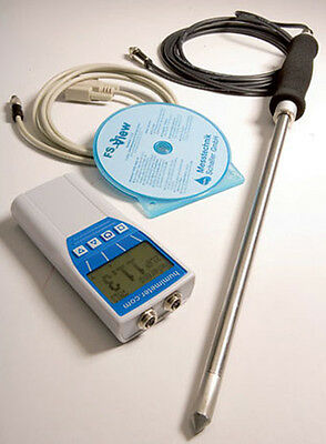 Rh2probe Relative Humidity Meter With Stabbing Probe Complete Kit
