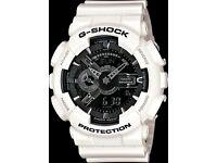 CASIO G-SHOCK GA110-7A WHITE CLASSIC
