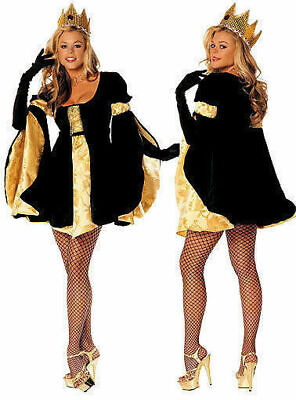 NEW Shirley of Hollywood 7520 Royal Highness Queen Costume Cosplay Last M/L USA (Hollywood Usa Kostüme)