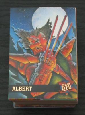 1995 Fleer Ultra X-Men Base Set of 150 Cards NM/M, Marvel RARE!!