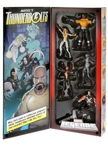 SDCC 2013 COMIC CON exclusive Thunderbolts Set 5 figure Marvel Legends figures