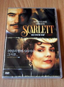 Scarlett 2 Disc Edi Gone with the wind Sequel NEW DVD