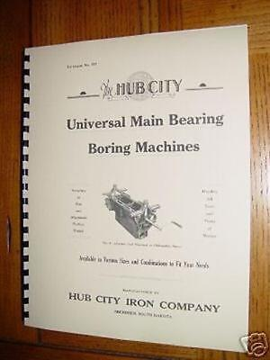 Hub City Iron Babbitt Pouring Literature / Manual for sale  Shipping to Canada