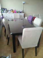 extendable dining table (6-10 seats)