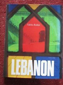 LEBANON - interesting illustrated book.