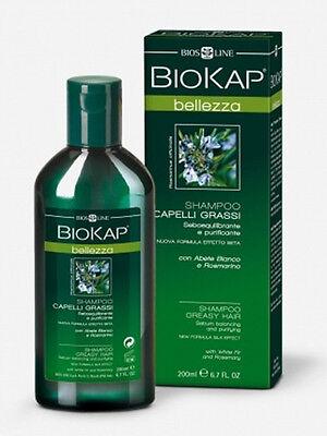 BioKap Shampoo Capelli Grassi e Appesantiti dalla secrezione sebacea 200ml