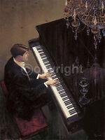 Brent Lynch: Jazz Duet - Pianoforte Fatto - Immagine 60x80 Pianoforte Musica -  - ebay.it