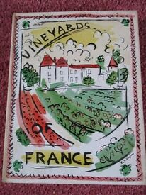 VINEYARDS OF FRANCE collector's item ono