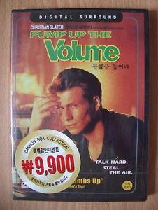 Pump up the Volume - Christian Slater - NEW DVD