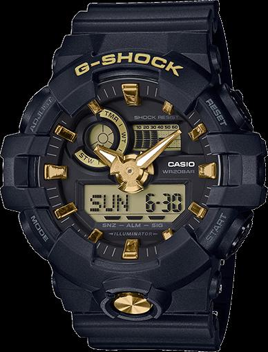 brand new casio g shock ga710b 1a9