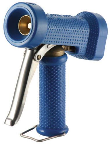 Heavy Duty wash Gun 1/2 BSP Brass Inlet with Scuff resistant Rubber Handle