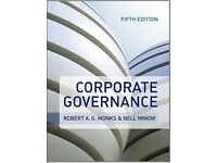 MBA-Corporate Governance Paperback-Robert A G Monks-Fifth Edition