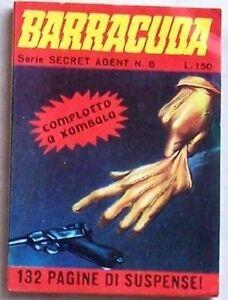 BARRACUDA - Serie SECRET AGENT n° 8 (Meroni, 1967) - Italia - SI GARANTISCE IL MATERIALE COME DESCRITTO. IL MATERIALE CHE NON RISULTASSE GRADITO POTRÀ ESSERE RESTITUITO PREVIO ACCORDO; IN TAL CASO LE SPESE DI SPEDIZIONE SARANNO A CARICO DEL MITTENTE. - Italia