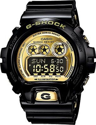 BRAND NEW CASIO G-SHOCK GDX6900FB-1 BLACK/GOLD DIGITAL MENS WATCH NWT!!!